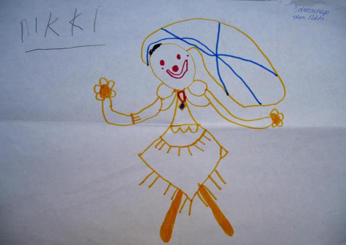 tekening 1 - NIKKI