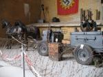 Allerlei soorten wapentuig in het museum Todt